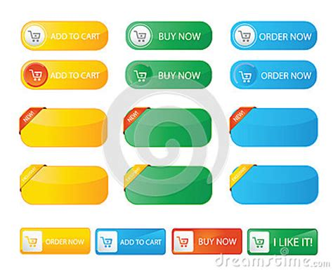order now buying on web stock illustration 88098922 fresh color buy now web buttons stock vector image 61121490