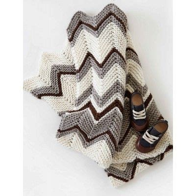 bernat zig zag afghan pattern zig zag blanket patterns yarnspirations knitted