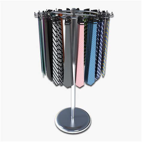 Necktie Display Rack by Tie Rack Display 3d 3ds