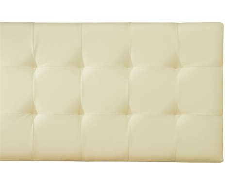 cream headboard romeo cream faux leather headboard just headboards