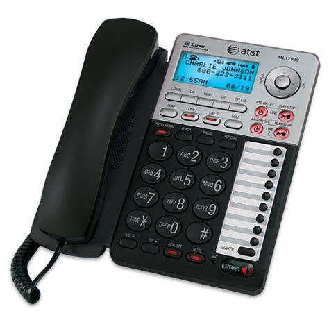 Office Telephones by At T 2 Line Office Phones Small Office Phones At T