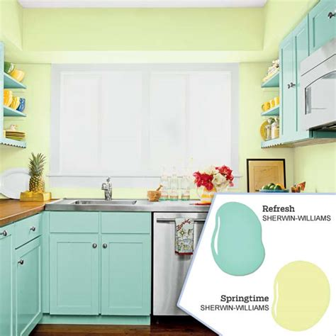 kitchen color palette blue and green in your new kitchen color scheme