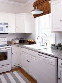 White Kitchen Cabinets White Appliances Ideas For That Awkward Space Above Your Kitchen Cabinets