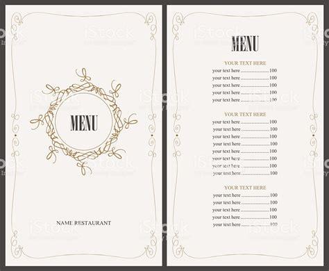 cornici menu menu prima comunione da stare