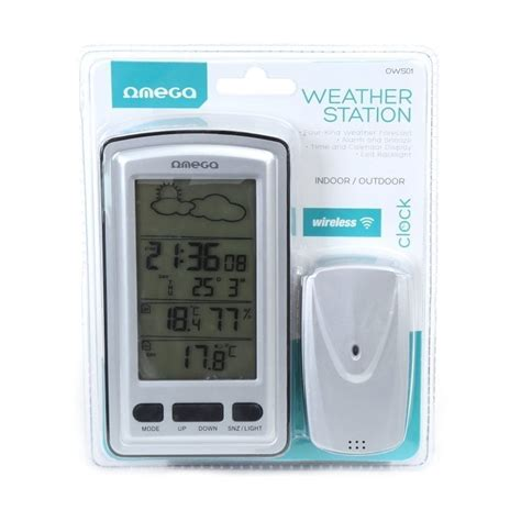 omega digital weather station 42362 thermometers