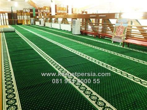 Toko Sajadah Minimalis kini hadir karpet sajadah masjid minimalis warna hijau