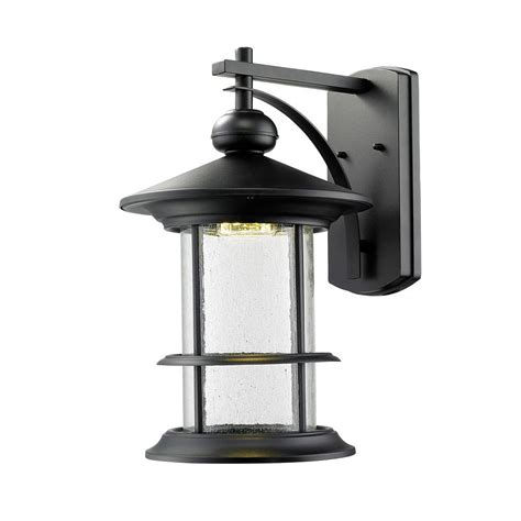 home decorators collection black outdoor led medium wall