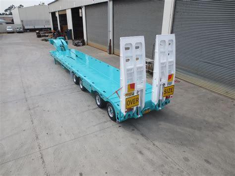 trt new trt 4x8 swing wing low loader for sale
