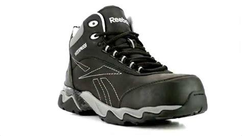 Reebok Beamer Safety Shoes mens reebok rb1068 beamer composite toe waterproof metal free hiker work boot steel toe shoes