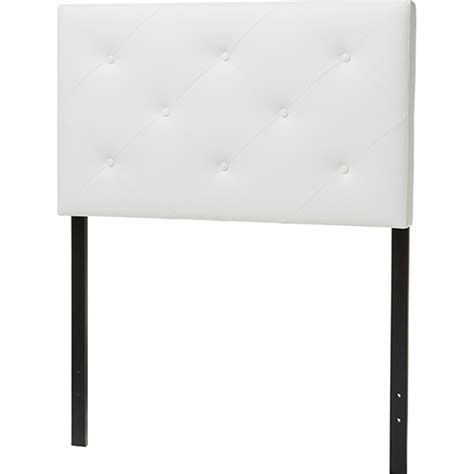 leather twin headboard baltimore faux leather twin headboard white dcg stores