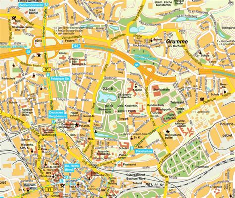 map of bochum germany image gallery map bochum