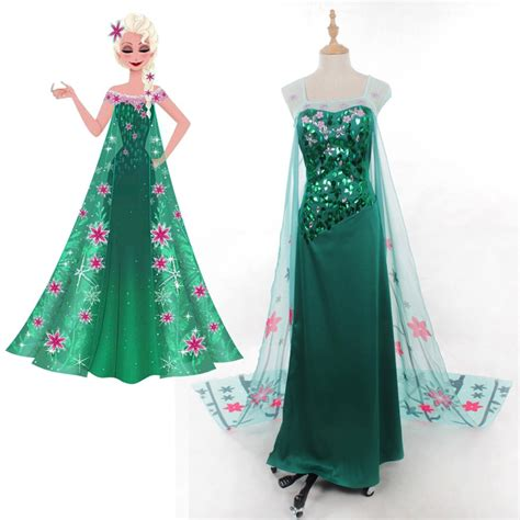 Elsa Handmade Costume - popular costumes custom buy cheap