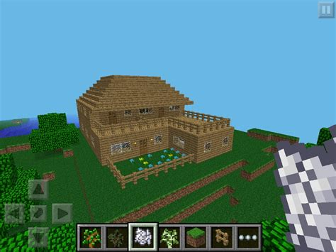 things to when building a house как построить дом в minecraft pocket edition