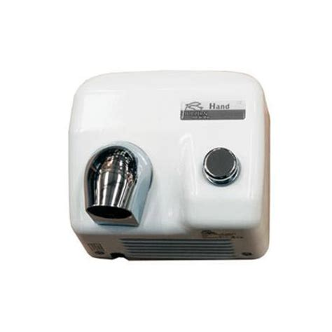 Bathroom Air Dryer by Dolphin Enamel Coated Push Button Air Dryer