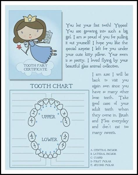 free printable tooth letter template tooth letters tooth and fairies on