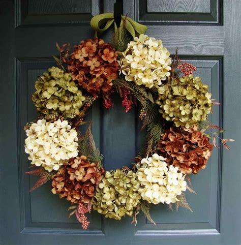 fall wreaths  front door top  pictures
