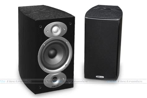 polk audio rti a1 bookshelf speaker pair 424 00