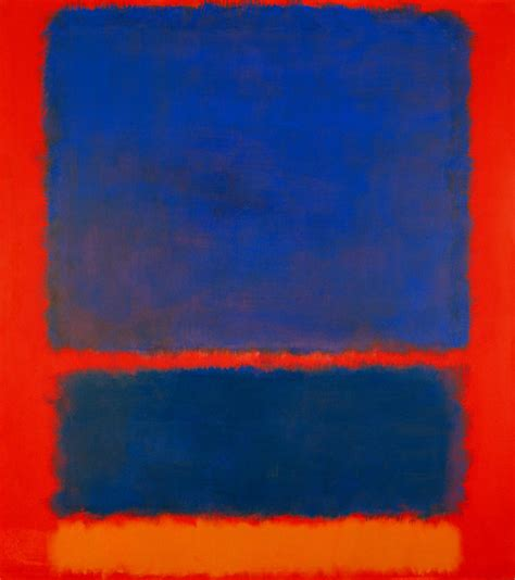 rothko the color field blue is the warmest color sundance selects mark rothko s blue orange red 1961