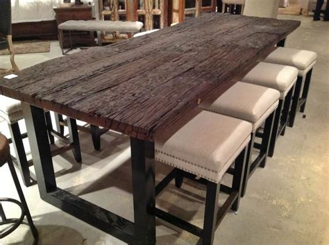 dining room tables houston take a look at this chic and contemporary reclaimed wood