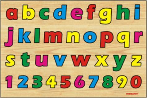 Enoch Huruf Kayu Abjad U puzzle huruf kecil dan angka belanja mainan edukasi
