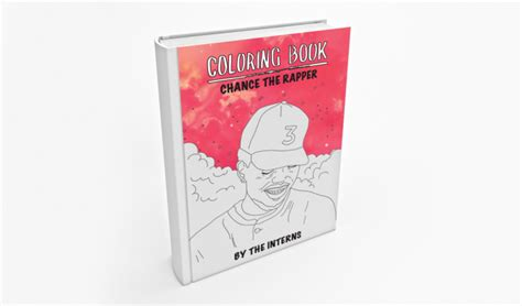 coloring book chance the rapper dl chance the rapperの新ミックステープ coloring book のリリック入りぬり絵本がフリーで