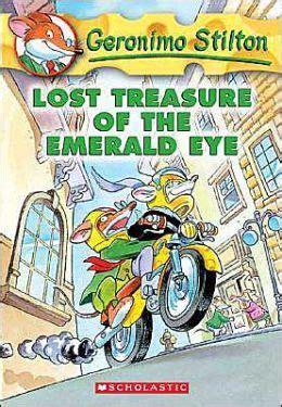 eye handyman series books lost treasure of the emerald eye geronimo stilton series
