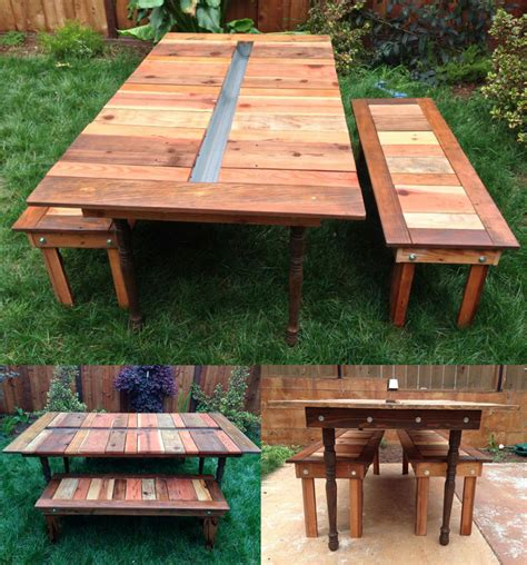 Cooler Picnic Table by 13 Diy Cooler Table Plans To Build For Outdoor