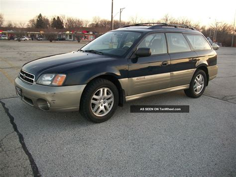 awd subaru outback 2002 subaru outback awd with 5 speed manual transmission