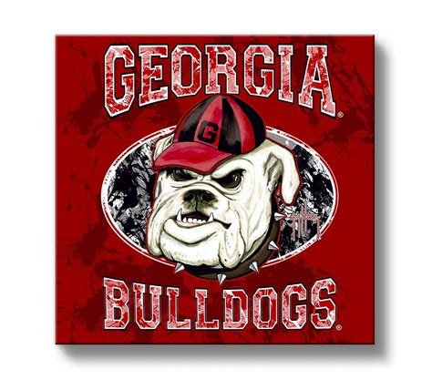 georgia bulldog home decor georgia bulldogs wall decor