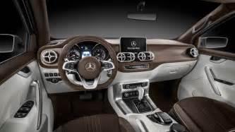 Mercedes Interior 2017 Mercedes X Class Truck Interior Wallpaper