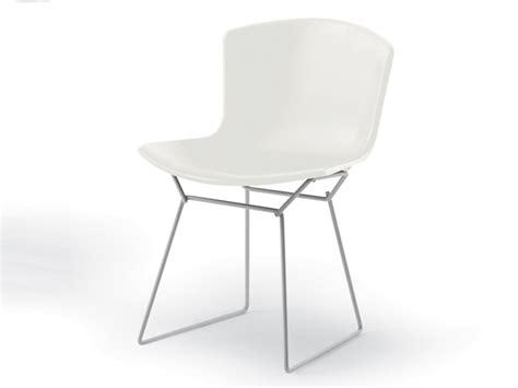 Knoll Bertoia Side Chair Buy The Knoll Studio Knoll Bertoia Plastic Side Chair White Base At Nest Co Uk