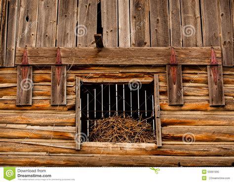 barn loft doors barn hay loft door stock image image of worn wood
