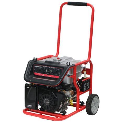 7000 watt gas powered electric start generator for 529 00