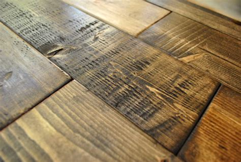 Distressed Flooring Techniques - how to distress wood photos house
