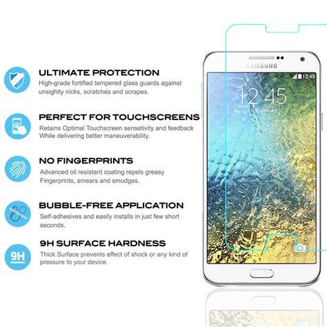 Tempered Glass Samsung Galaxy E5 Screen Protector 9h zizo lightningshield samsung galaxy e5 tempered glass screen protector