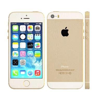 Hp Apple Iphone 5 Gold jual apple iphone 5s 32 gb smartphone gold refurbished