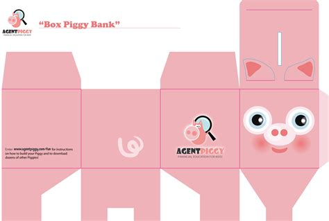 How To Make A Paper Bank - origami piggy paper piggy bank craft piggy paper