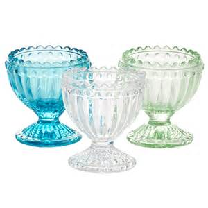 Vintage glass egg cup