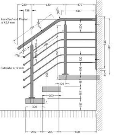 entwurf cad fotorealistische 3d visualisierung - Treppengeländer Din