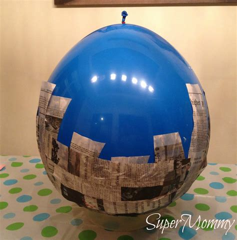 Make Paper Mache Pinata - how to make a pinata