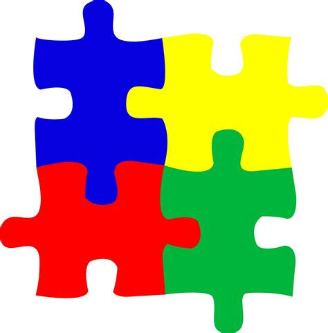 Autism Outline by Autism Puzzle Outline Clipart Best