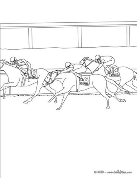 race horse coloring pages horse race coloring pages hellokids com