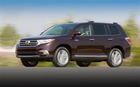 2012 Toyota Highlander 2012 Toyota Highlander Photo Gallery Motor Trend