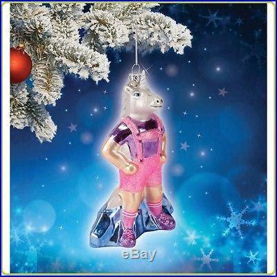 why do we hang ornaments on a christmas tree accoutrements lederhosen unicorn ornament tree hang decor gift decor