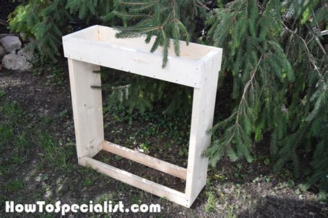Small Firewood Rack by How To Build An Indoor Firewood Rack Howtospecialist