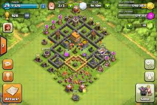 Coc th6 trophy base apps directories