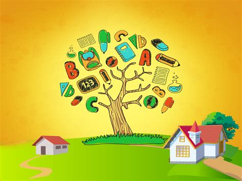 Kids Tree Wall Sticker education wallpapers education pc backgrounds 47 98vy