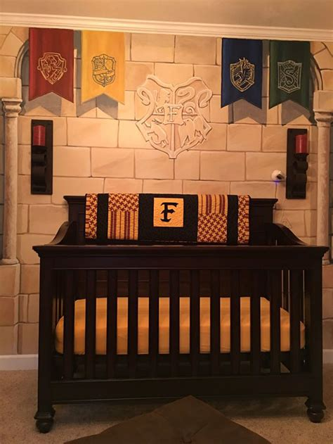 Our Harry Potter Nursery Finally Creates Harry Potter Nursery For His Wizard