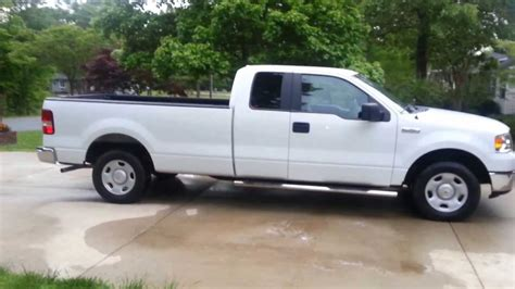 f150 long bed 2007 ford xlt f 150 extended cab long bed youtube