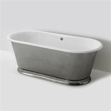 freestanding bathtubs cast iron voltaire freestanding oval cast iron bathtub 67 quot x 31 quot x